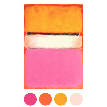 Gorgeous Wedding Color Palettes Inspired By Art