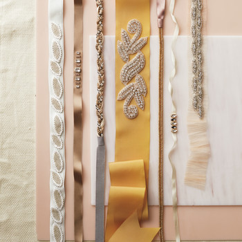 Embellished Ribbons (for a Headband, Necklace, or Sash!)