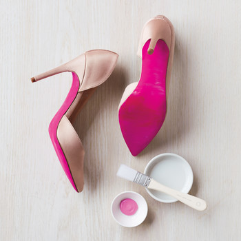 Painted-Sole Bridesmaids Heels