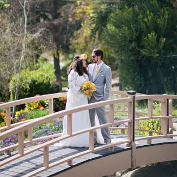 Real Wedding: Justina and Jason, Los Angeles, California