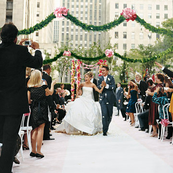 A Formal Tiffany-Blue and Pink Wedding in New York City