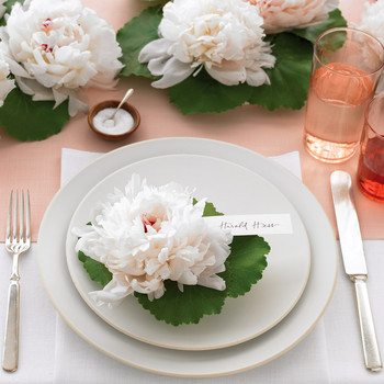 Floating Flowers Centerpiece