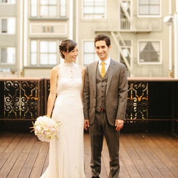 A Crafty Vintage-Inspired Wedding in San Francisco