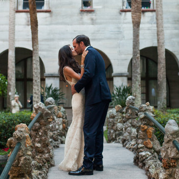 A Romantic Garden Destination Wedding in Florida
