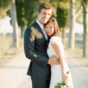 An Intimate Wedding Outdoors in Italy