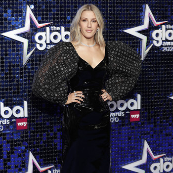 ellie goulding 2020 global awards red carpet