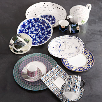 Patterned China Set