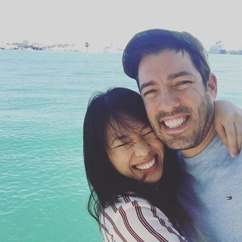 Drew Scott and Linda Phan