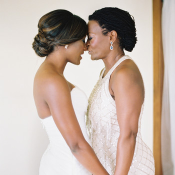 Mother of the Bride Bun Hairstyle