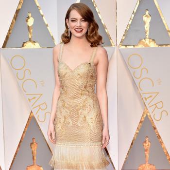 Emma Stone 2017 OscarsRed Carpet