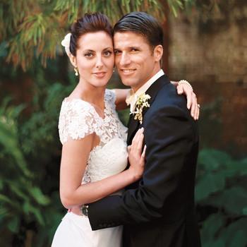 Eva Amurri and Kyle Martino's Modern Slate Gray Destination Wedding in Charleston