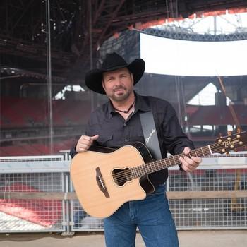 Garth Brooks at a concert
