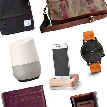 groom gift guide collage