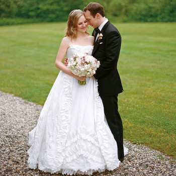 A Vintage-Inspired Formal Wedding in Maine