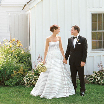 A Nautical Black-Tie Wedding in Port Clyde, Maine