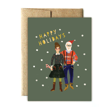 The Dos and Don'ts of Sending Holiday Cards as a Couple