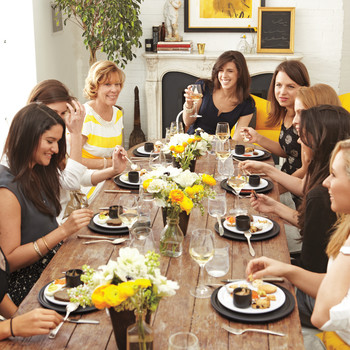 Can a Relative Host the Bridal Shower?
