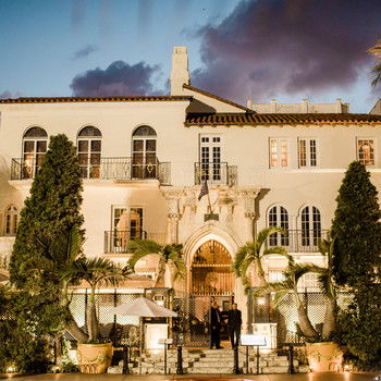 Villa Casaurina, the Versace Mansion wedding venue in Miami Beach