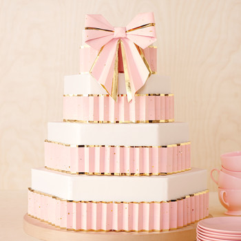Origami Bow Cake Topper