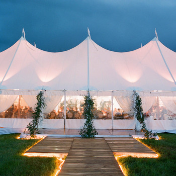 sloan scott wedding tent white