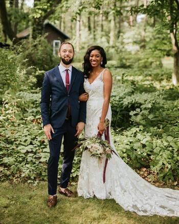 "A ""Backyard Boho"" Wedding on the Bay in Massachusetts"