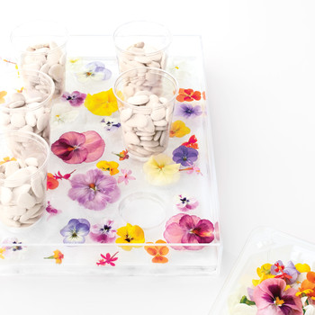 How to Make a Flower Ice Tray