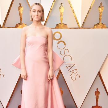 Saoirse Ronan 2018 Oscars Red Carpet
