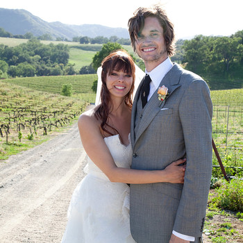A Casual, Rustic Outdoor  Wedding on a Farm in California