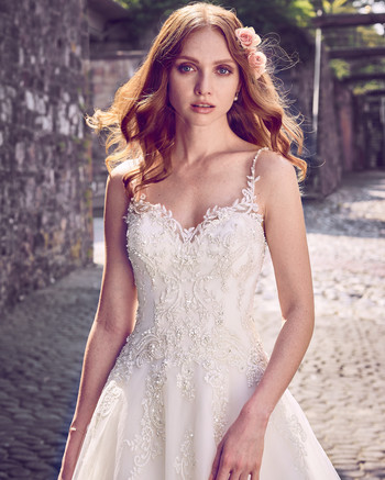 maggie sottero sweetheart beaded lace