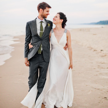 A Rustic Outdoor Wedding in West Olive, Michigan