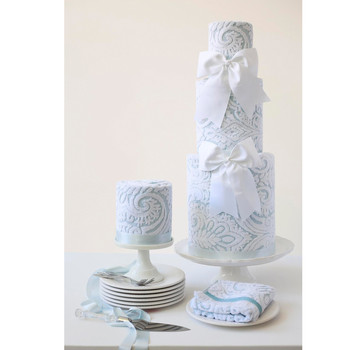 bridal shower towel cakes