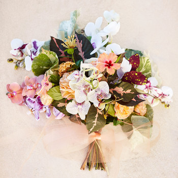 Bright Exotics Beachy Bouquet