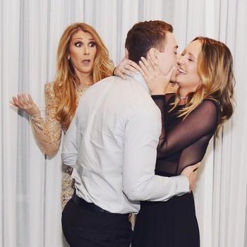 Celine Dion suprise proposal