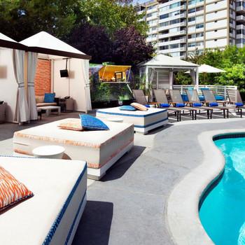 W Los Angeles Hotel WET