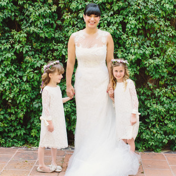 Flower Girl Dresses Martha Stewart Weddings