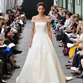 amsale wedding dress spring 2019 off the shoulder