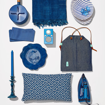 blue home goods registry products