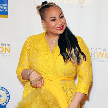 raven-symoné on 28th Annual NAACP Theatre Awards red carpet