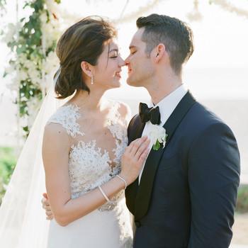 stacy brad wedding thailand couple