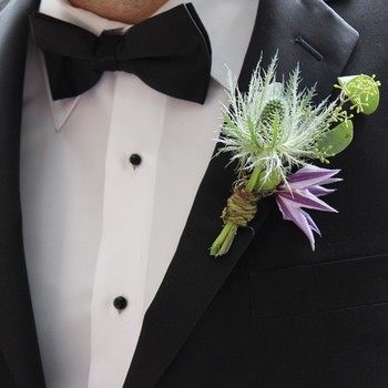 Winter Wedding Boutonnieres Done Right