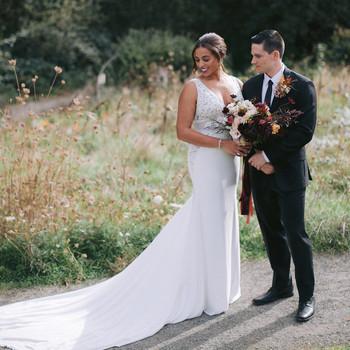 amber matt wedding couple