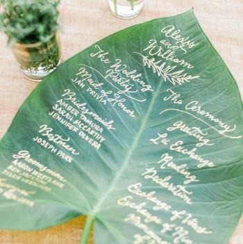 Wedding Programs Martha Stewart Weddings