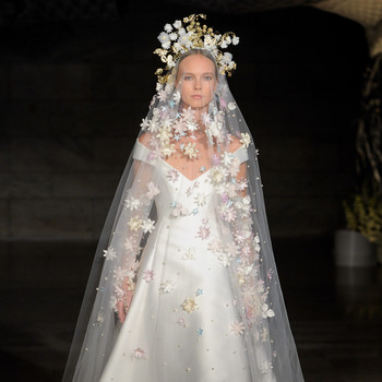 reem acra fall 2019 sheer a-line wedding dress
