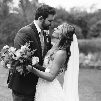 sarah jake wedding couple