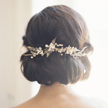 Bridal hairstyles martha stewart weddings everything you need to know about the wedding hair trial junglespirit Images