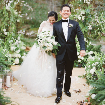 Adriana and Han's Storybook Winter Wedding