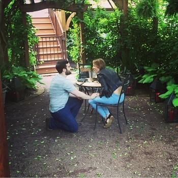 Jedidiah Bila engagement to fiance Jeremy Scher