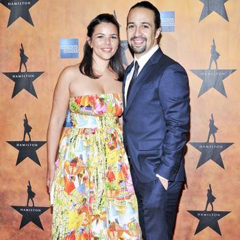 You Have to See Lin-Manuel Miranda's Musical Wedding Toast to His Wife