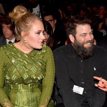 Adele and Simon Konecki Grammys 2017