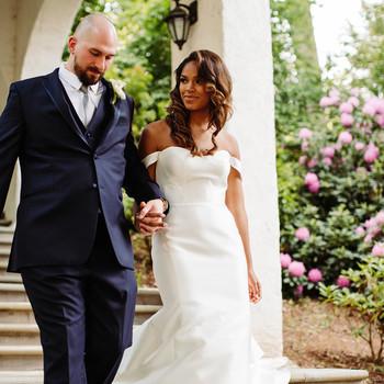bryanna nick wedding couple